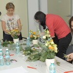 Atelier aranjamente florale corporate Spring Events