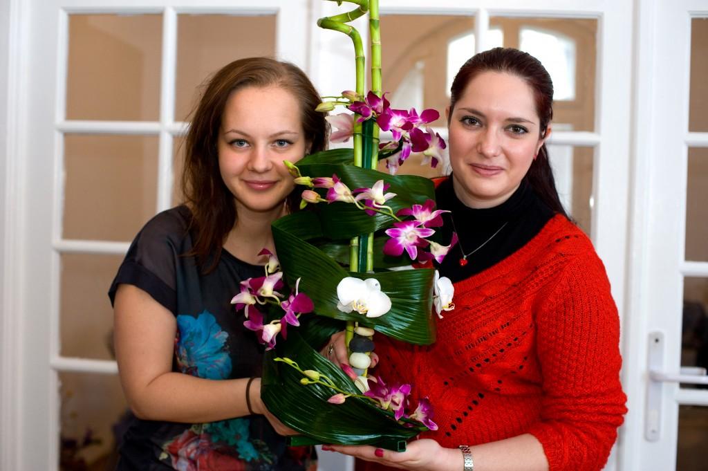 Atelier tematic de aranjamente florale Spring Events-aranjamente orhidee