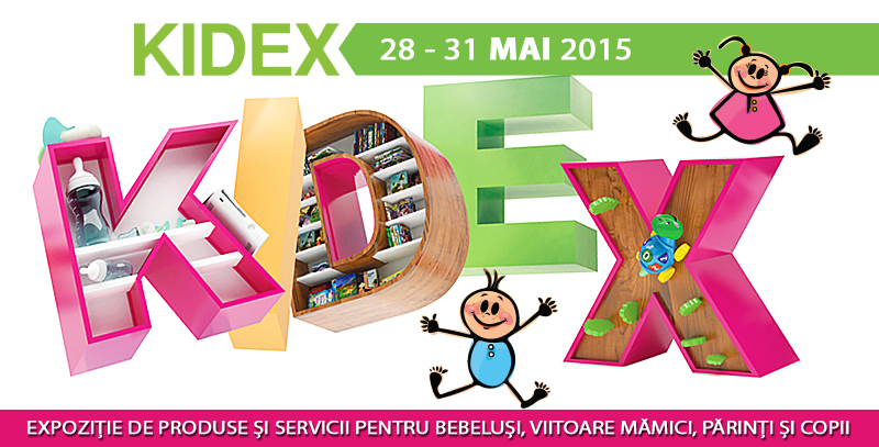 ateliere copii Spring Events Romexpo Kidex mai 2015